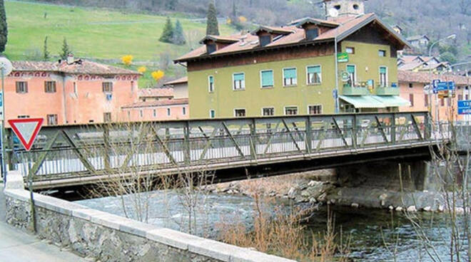 Ponte sul Caffaro ispezione della Provincia domenica 7 febbraio