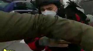 Vittorio Brumotti aggredito a Brescia due denunciati dalla Polizia