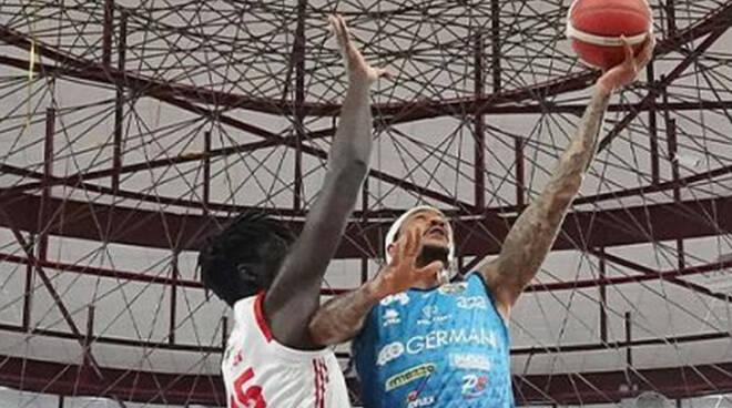 Basket serie A per la Germani una vittoria da 6 posto contro Reggio Emilia