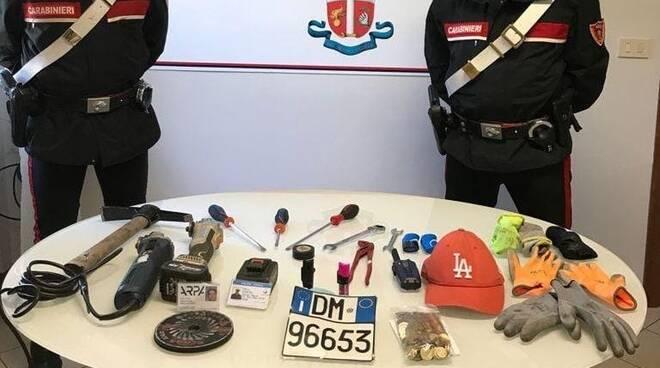 carabinieri arresto a sirmione