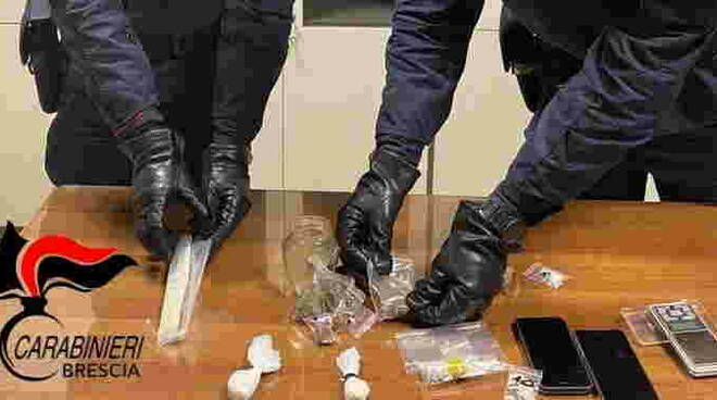 carabinieri droga sintetica