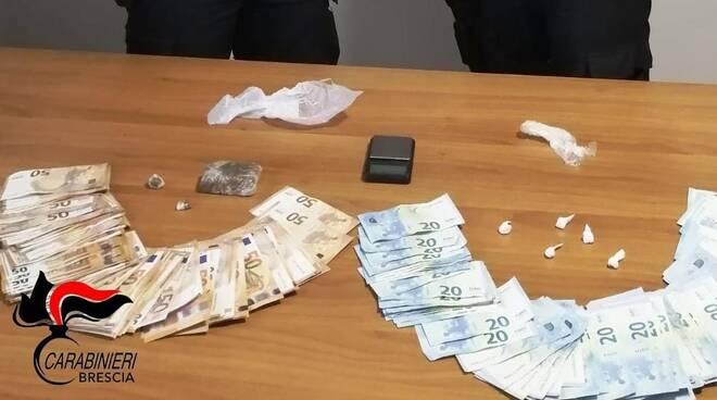 cocaina e hashish: arrestato motociclista marocchino
