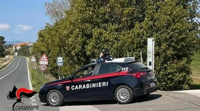 controllo carabinieri a calcinato