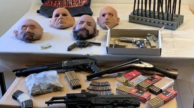 Deposito di armi scoperto da carabinieri di chiari