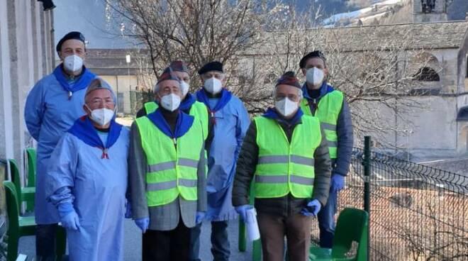 Hub vaccinale a Bagolino contro il coronavirus