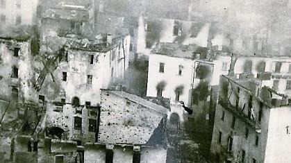 Ponte di Legno bombardamento austriaco 1917 Pontedilegno
