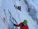 soccorso alpino, esercitazione in Val Paghera a Vezza d'Oglio