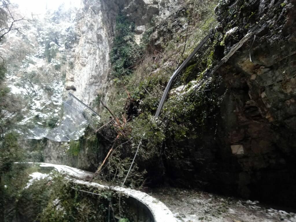 strada della Forra a Tremosine