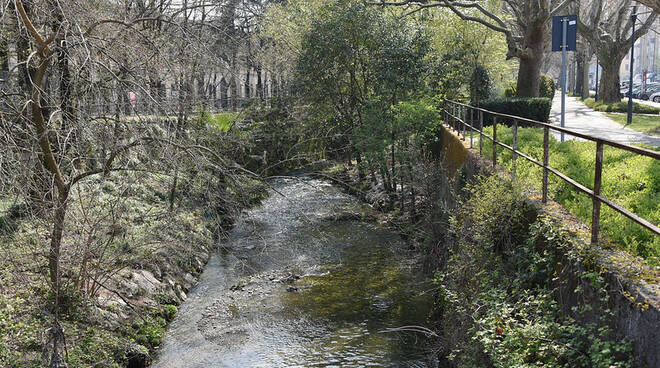Torrente Garza via Tartaglia via Ugoni 26 marzo 2021