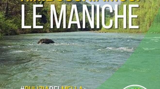 8 maggio, iniziativa dei Verdi sul fiume Mella