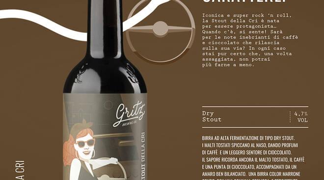 Birrificio Gritz presenta la Stout della Cri