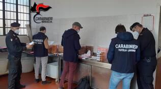 carabinieri controlli azienda dolciaria
