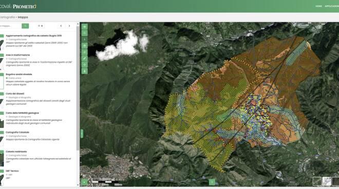 il nuovo portale cartografico della Valsabbia Prometeo