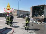 incendio camion termoutilizzatore