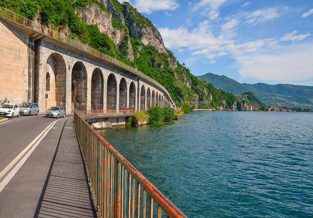 Lago Iseo la litoranea Sebina passa dalla Provincia ai Comuni