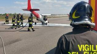 montichiari incidente aeroporto