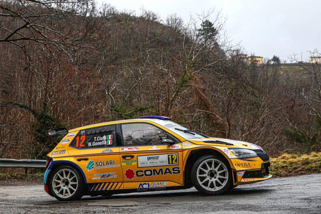 Rallye di Sanremo con la squadra corse angelo caffi