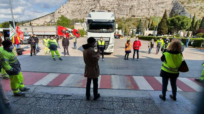 sciopero italcementi