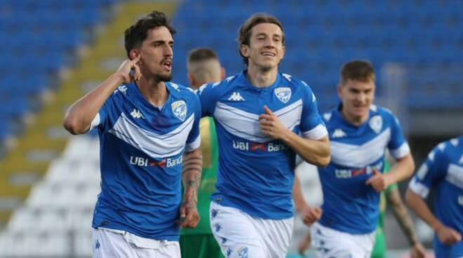 Serie B vittoria Brescia 4 1 sul Pordenone con vista playoff