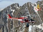 Vigili del Fuovo soccorso alpino