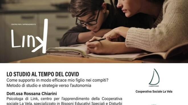 studio e covid, webinar della cooperativa La Vela