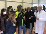 Vaccino antiCovid a Brescia hub al Brixia Forum si potenzia con 14 linee