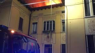 vigili del fuoco Brescia quartiere leonessa
