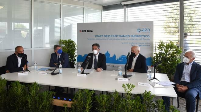 Accordo A2A e Alfa Acciai per il teleriscaldamento di Brescia