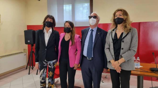 Brescia ministro Stefani in visita al centro ipovedenti e Fobap