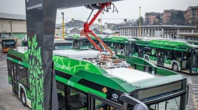 bus elettrici veicoli