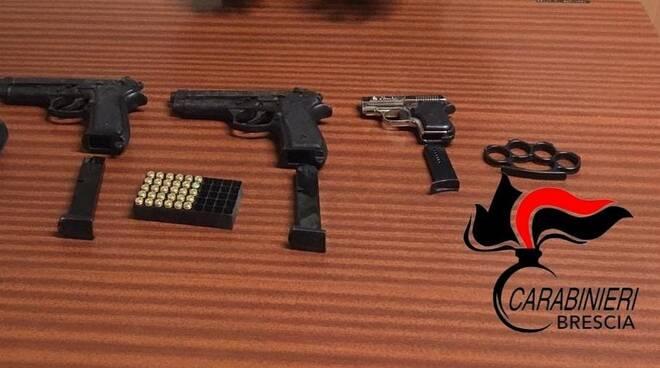 carabinieri sequestro armi