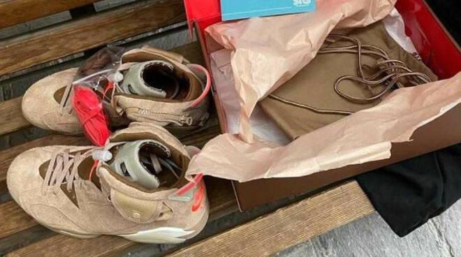 Coccaglio ruba le scarpe da collezione al venditore denunciato