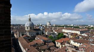 Brescia centro dalla Pallata via Pace
