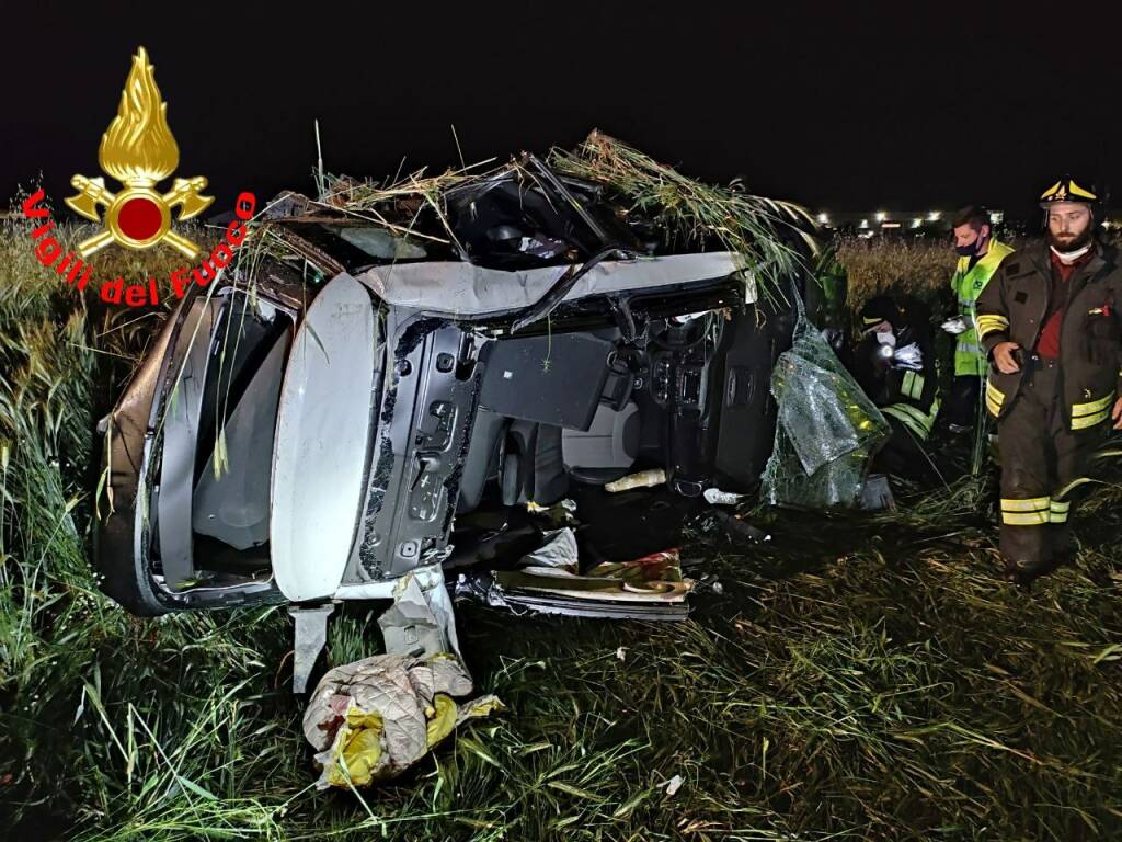 incidente autostrada Palazzolo