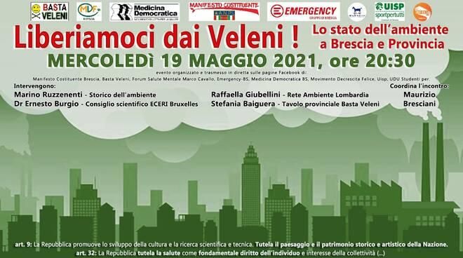 Liberiamoci dai Veleni 19 maggio Brescia