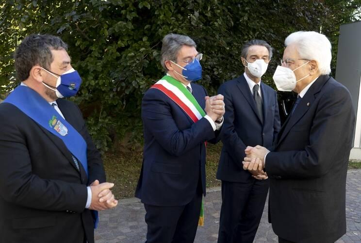 Mattarella a Brescia