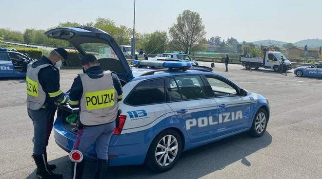 polizia stradale Montichiari