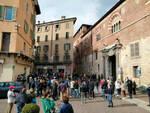 Sanatoria del 2020 protesta degli irregolari a palazzo Broletto