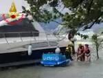 soccorsa imbarcazione a san felice del benaco
