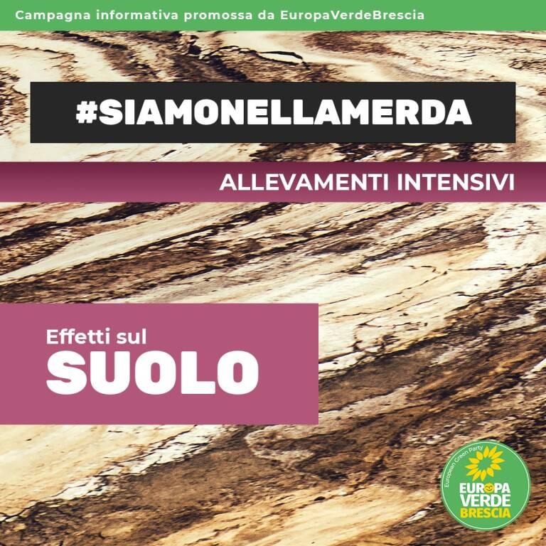 Verdi-Europa Verde Brescia, campagna informativa sugli allevamenti intensivi