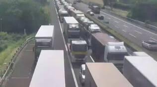 A4 Milano Brescia incidente tra Palazzolo e Grumello code