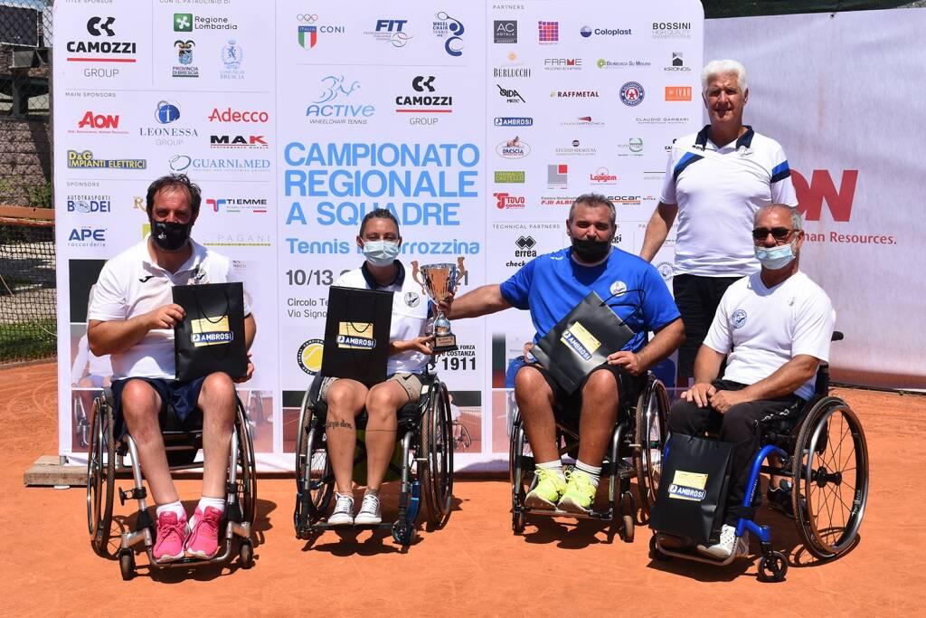 Active sport tennis carrozzina