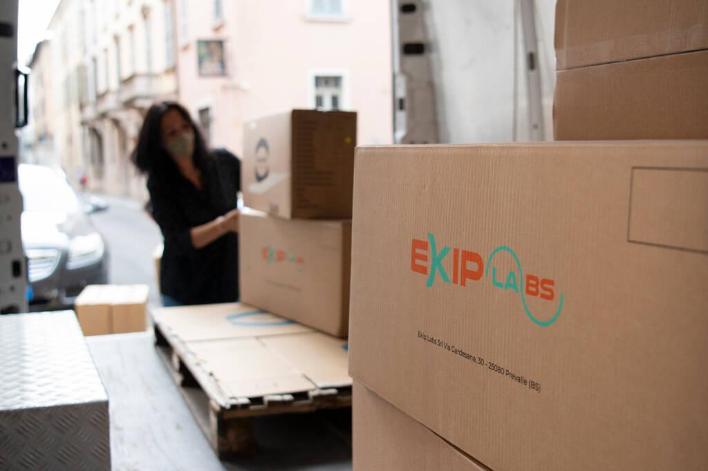 EkipLabs dona 12.500 mascherine FFP2