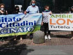 Fanghi tossici Wte sit in degli ambientalisti al Pirellino di Brescia