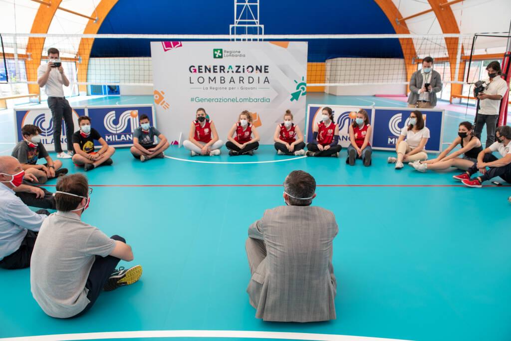 """""""Generazione Lombardia"""": parte il tuor"""