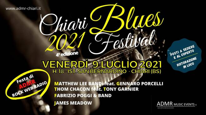 Locandina Chiari Blues