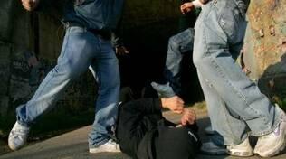 rissa pestaggio botte violenza