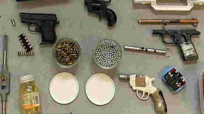 scacciacani armi modificate 17enne Brescia