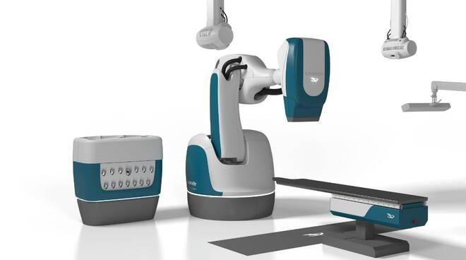 Sistema robotico per radioterapia