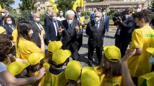 Studenti bresciani incontrano Mattarella alla Festa Educazione alimentare